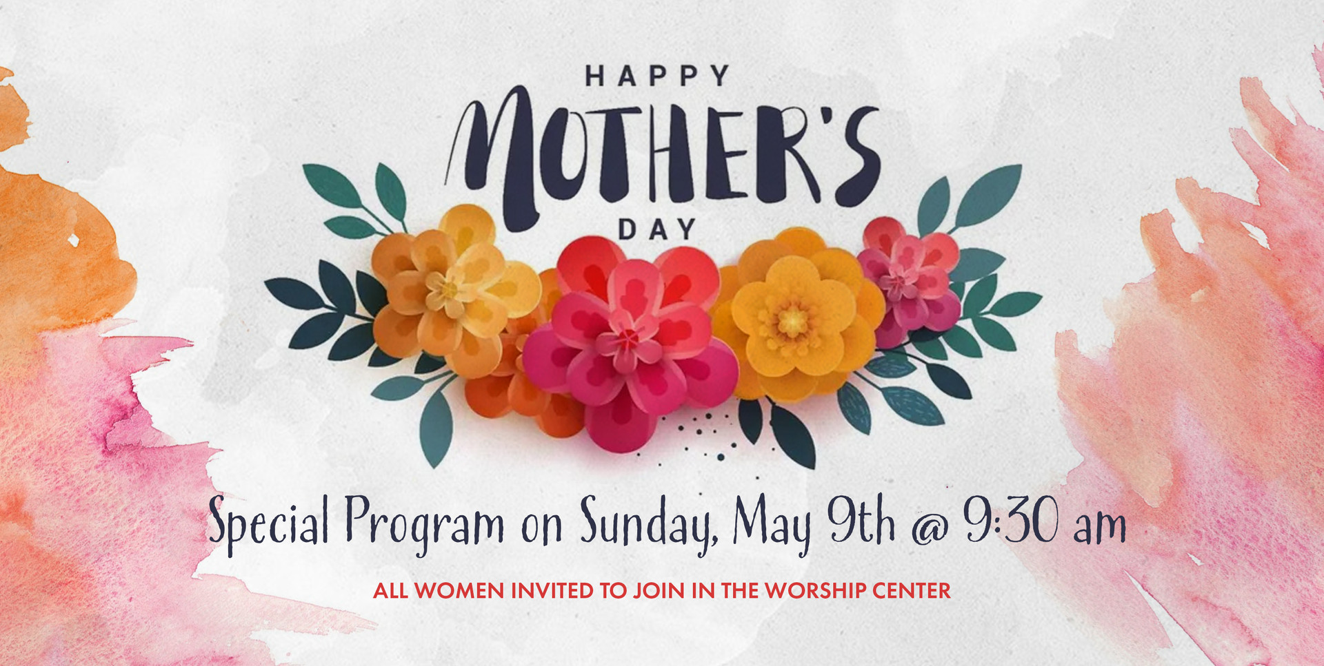 MOTHERS DAY PROGRAM