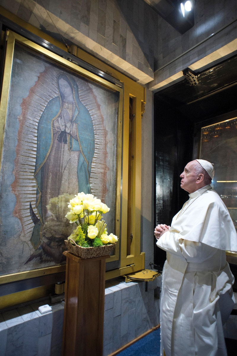 Pope Francis and Guadalupe