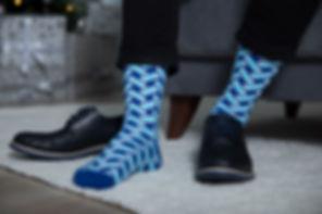 Мужские веселые носки