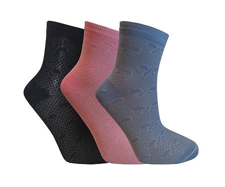 Носки женские ажурные С 121