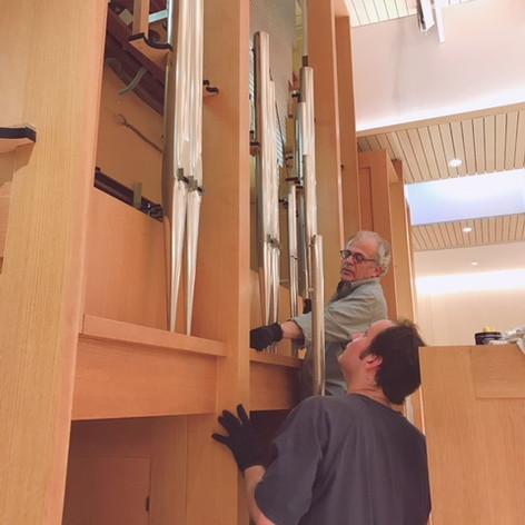Restoration of the 1975 Rieger Organ, St. Hilda's & St. Hugh's School, NYC