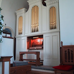 Odell Opus #80, 1869; Restored by Anthony Meloni, 1988 for Reformed Presbyterian Church, Manassas, VA