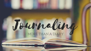 """""""Journaling: More than a Diary.""""  Sunday Night — Warriors for Life (WFL)"""