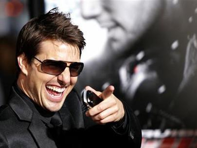 """Tom Cruise """"Runs"""" For President"""