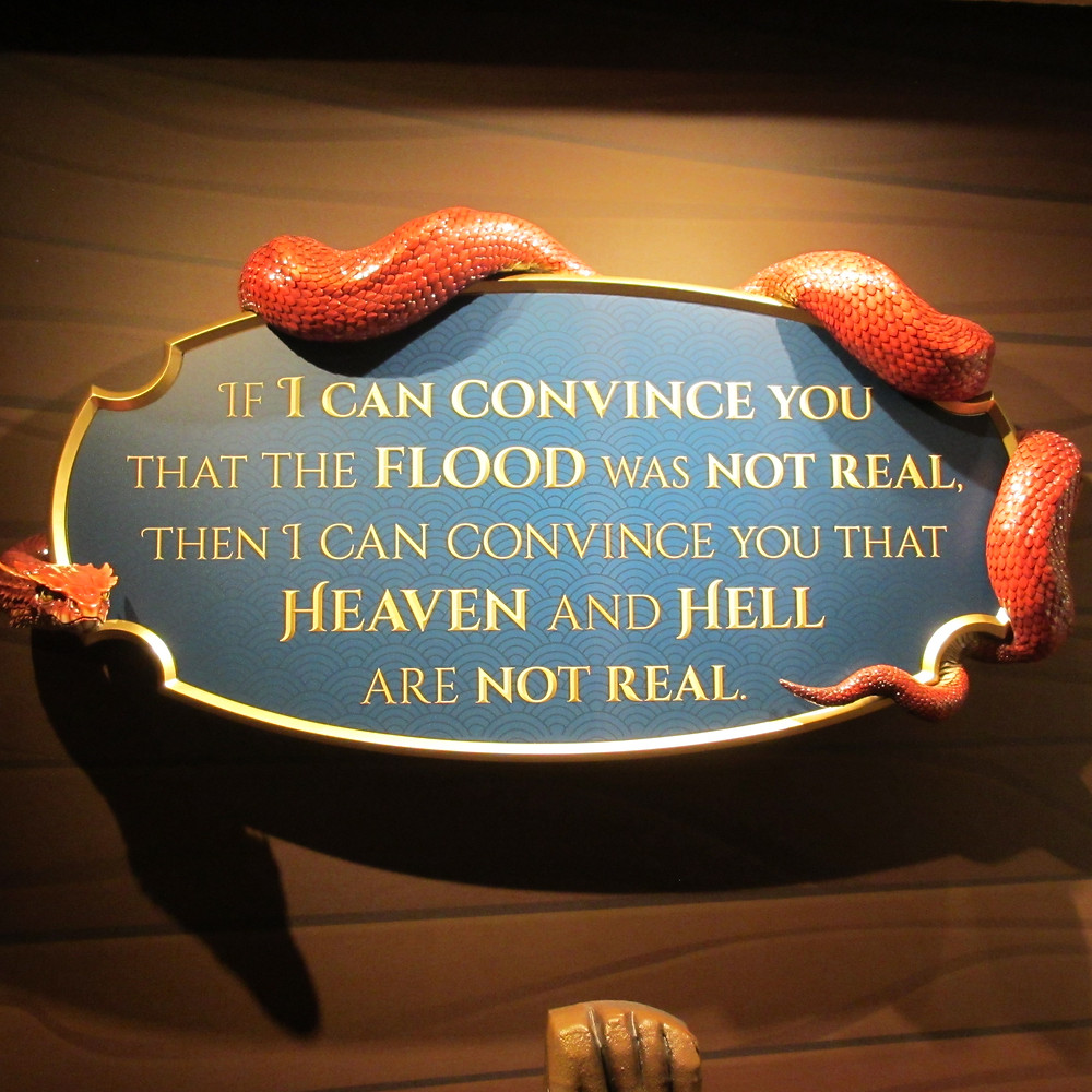 Image from Ark Encounter exhibit