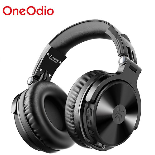 Oneodio Wireless Headphones With Microphone 80H Playing Time