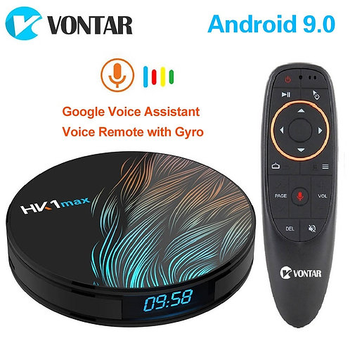 2020 Smart TV Box Android  Wifi Android TV Set Top Box Media Player
