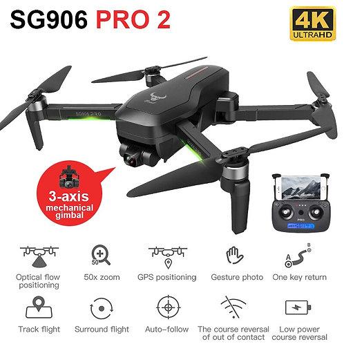 HGIYI SG906 PRO 2 GPS Drone Anti-Shake Self-Stabilizing Gimbal 4K HD Camera