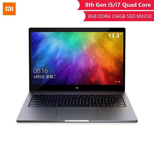 Original Xiaomi Laptop Air 13.3 Inch Inter 8th Quad Core I5 I7 8G MX250 Laptops