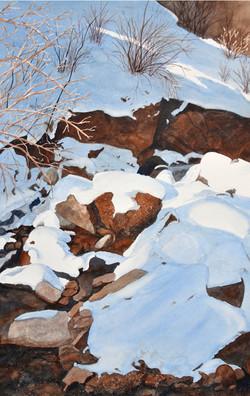 Cheyenne Canyon Creek - Winter
