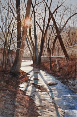 Winter Walk Along Fountain Creek