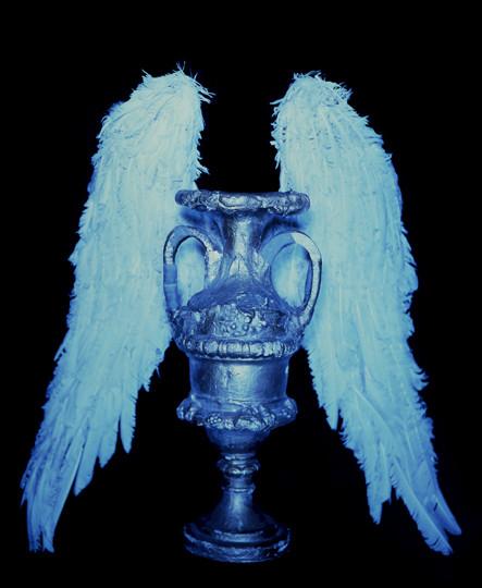 Winged Urn (Cyan), 1983