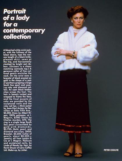 Portrait of a Lady, 1978