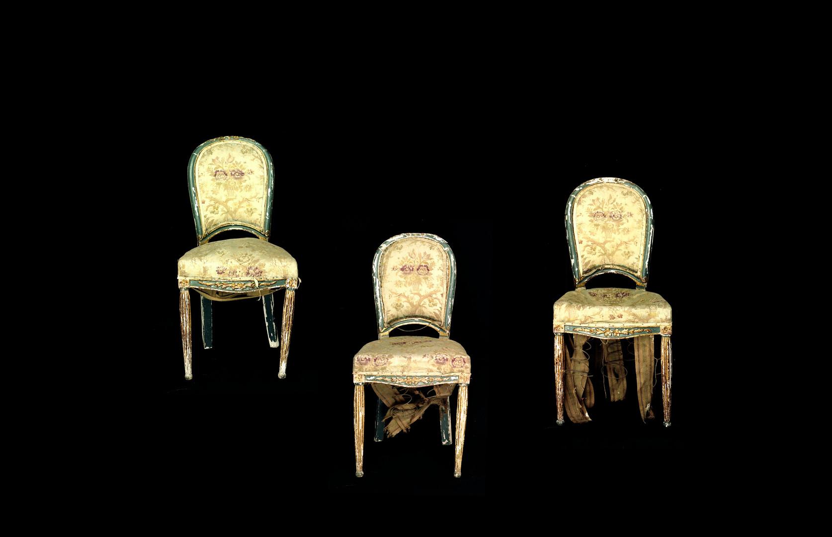 Trinity of Broken Chairs