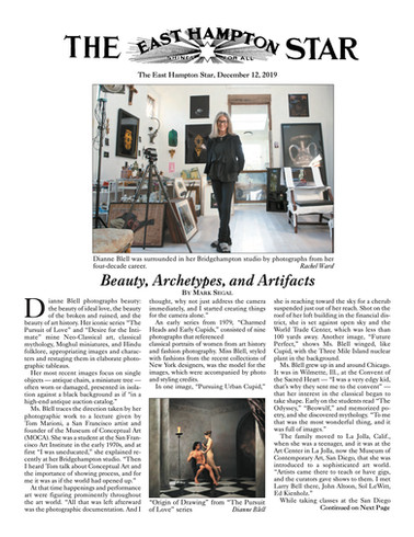 Article, East Hampton Star 2019, Page 1