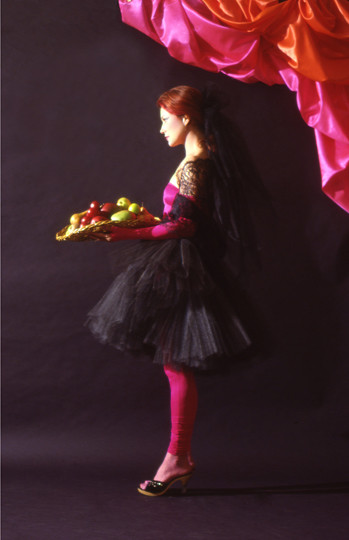 Saintly Girl with a Basket of Fruit, 1979