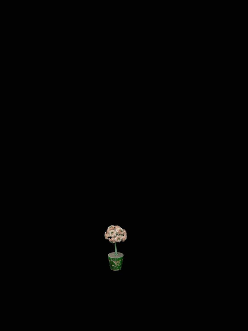 Found Tiny Artificial Tree