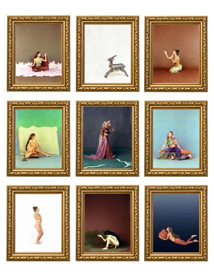4x5 Figure Elements (Rada) or (Female), 2007