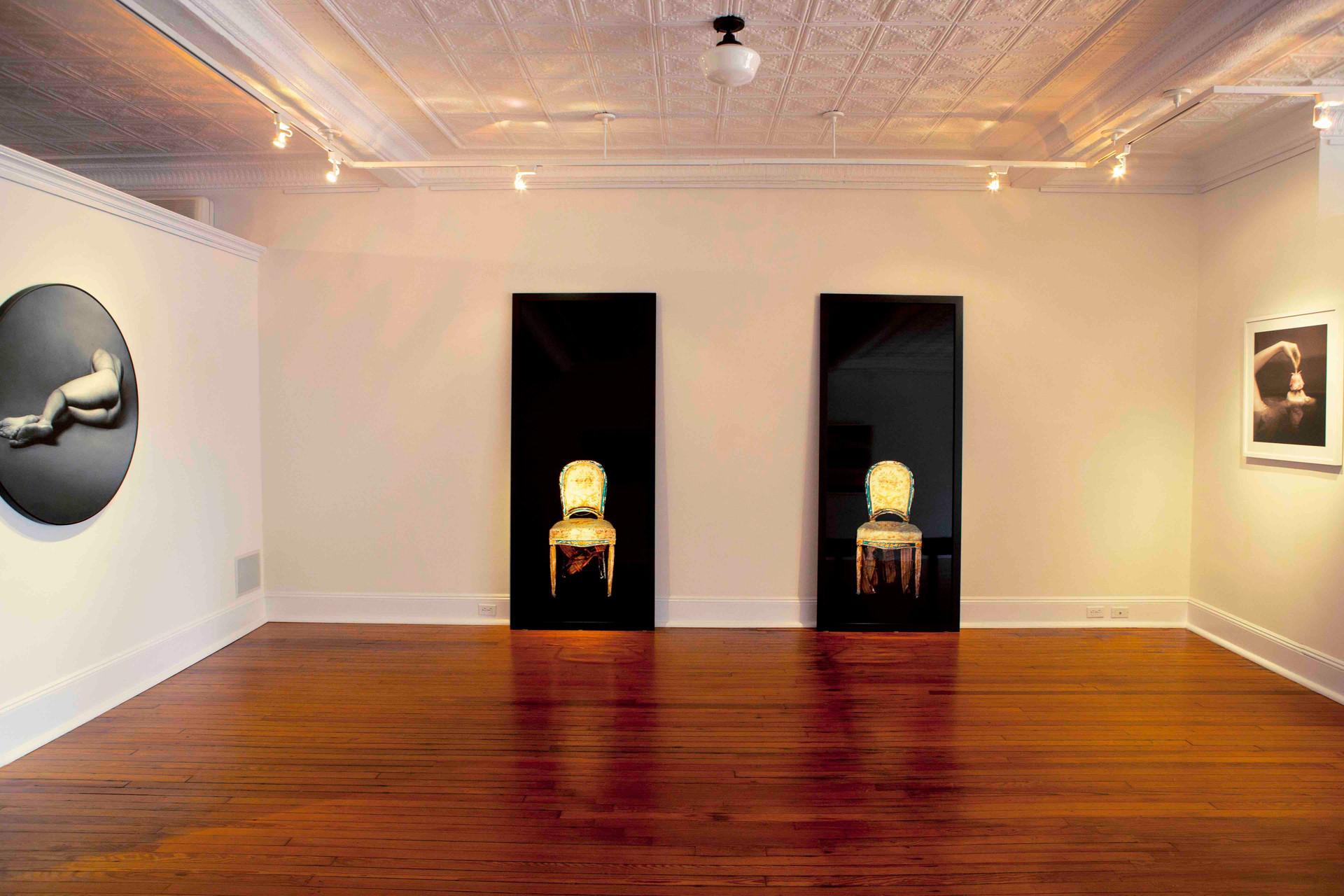 Tragic Chairs by Dianne Blell, M&M Fine Art, 2019