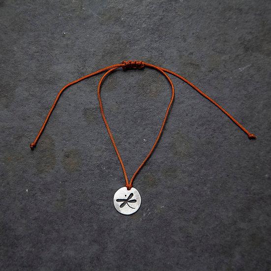 pulseira mini pingente libélula