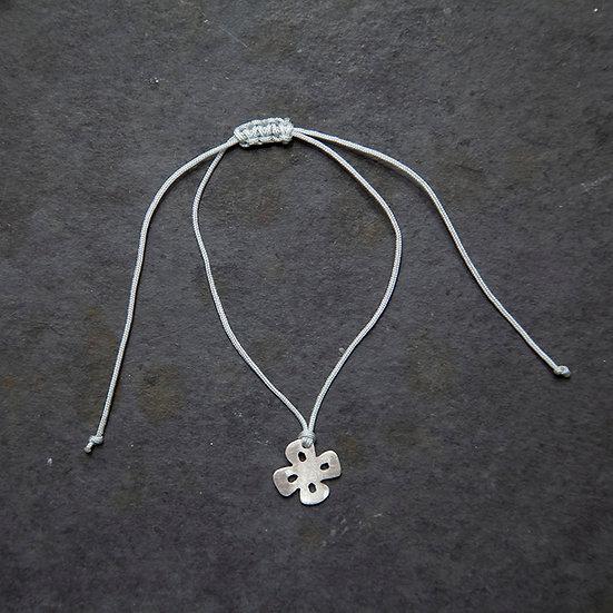 pulseira mini pingente flor