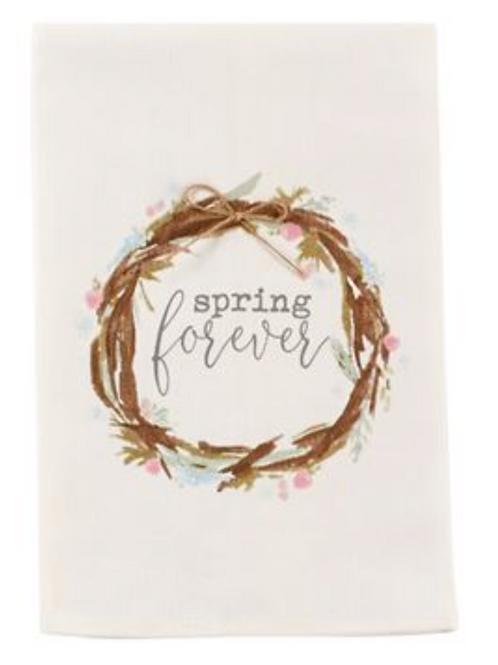 Forever Spring Dishtowel