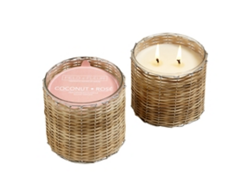 Coconut Rose 12 oz Candle