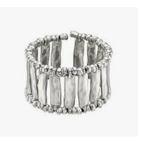 UNOde50 Silver Cuff Bracelet