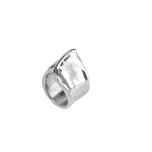 UNO de 50 Silver Ring