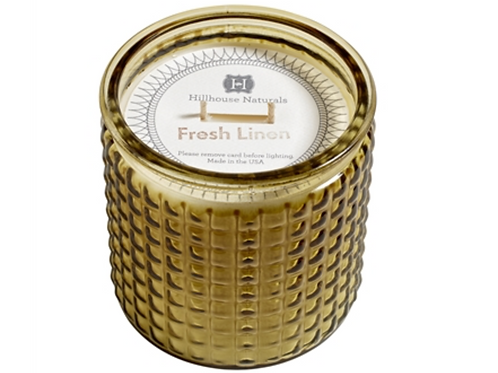 Fresh Linen 2 Wick Candle