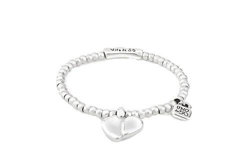 UNOde50 Silver Bracelet w/Heart