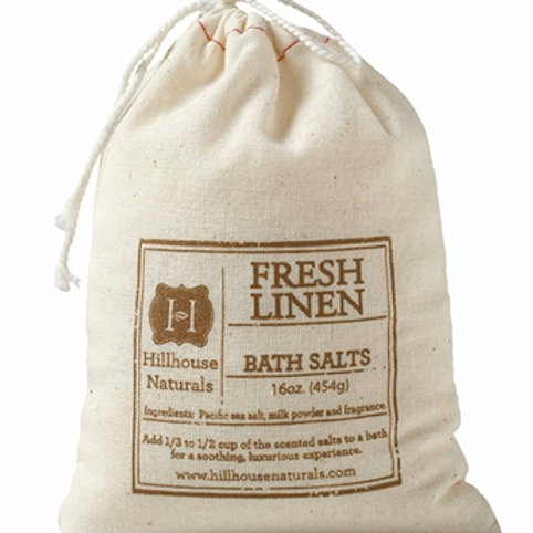 Fresh Linen Bath Salts