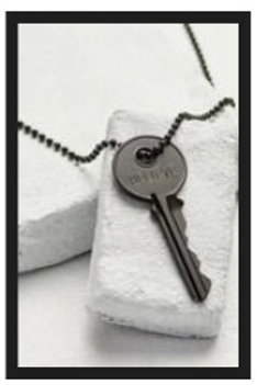The Giving Key Classic Ball Necklace-Believe