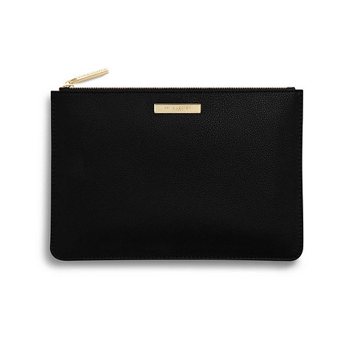 Classic Black Perfect Pouch