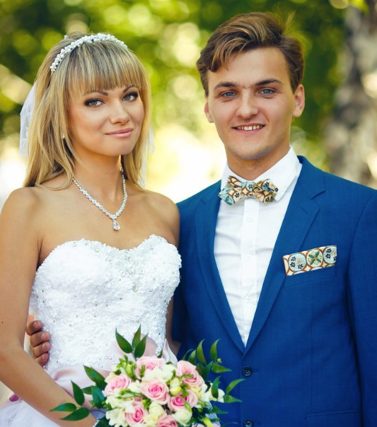 Галстук-бабочка - модный свадебный (и не только) аксессуар для жениха и друзей жениха