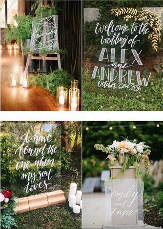 Актуальные темы свадебного оформления 2017 года!