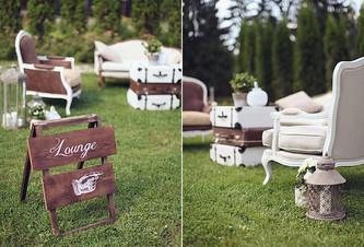 """Идеи оформления """"лаундж"""" зоны на летней свадьбе"""