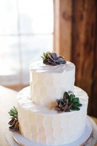 Примеры красивых свадебных тортов