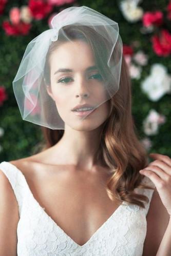 Идеи свадебной вуалетки