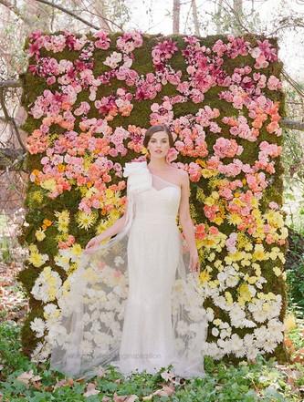 Идеи оформления свадебной фотозоны