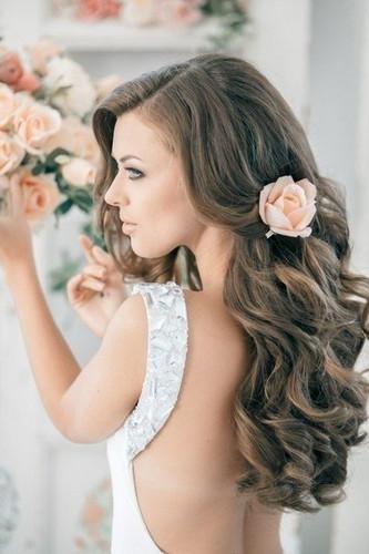 Идеи прически невесты