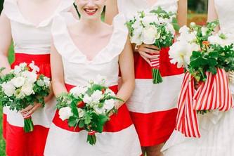 Идея клубничной летней свадьбы