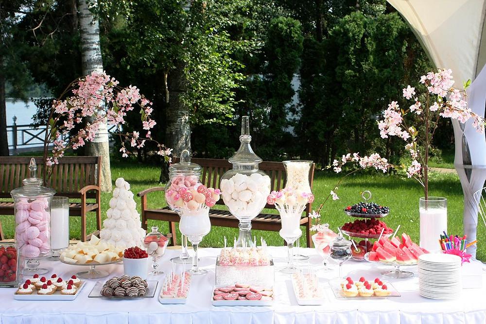 Все о «Кенди баре» на вашей свадьбе
