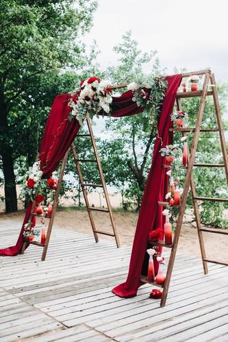 Идеи фонов для фотозоны как оформление вашей свадьбы