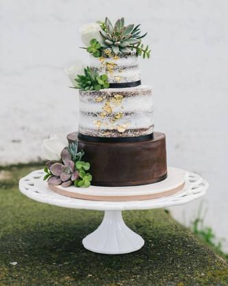 Идеи аппетитных свадебных тортов