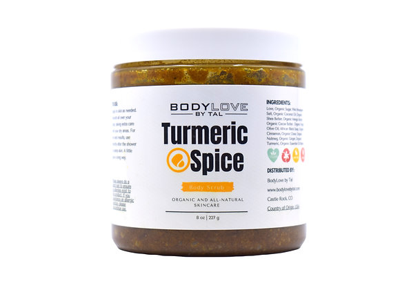 Turmeric Spice Scrub