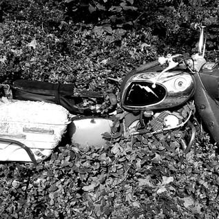 Motocycle Ruins BW.jpg