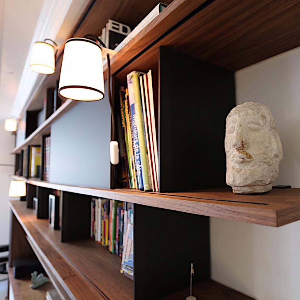 Bibliothèque Noyer
