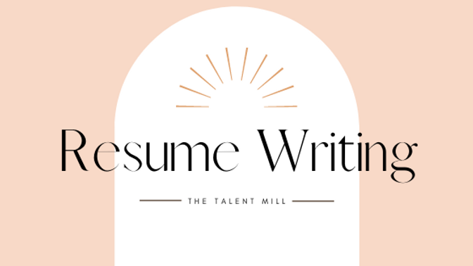 Resume Writing - Canva Formatted
