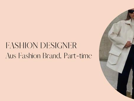 Fashion Designer - Aus Bohemian Resort style Fashion brand - Perth (20 hours pw)
